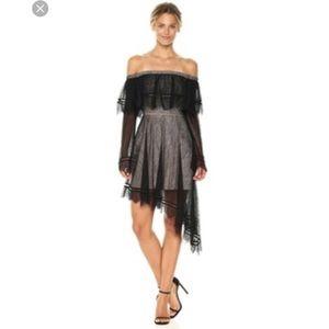 Keepsake the label lace off shoulder dress